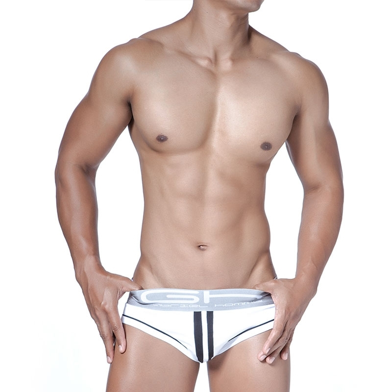 GABRIEL HOMME BRIEF regular FLASH VIVID Climbing GH-2-9318 Sportswear white