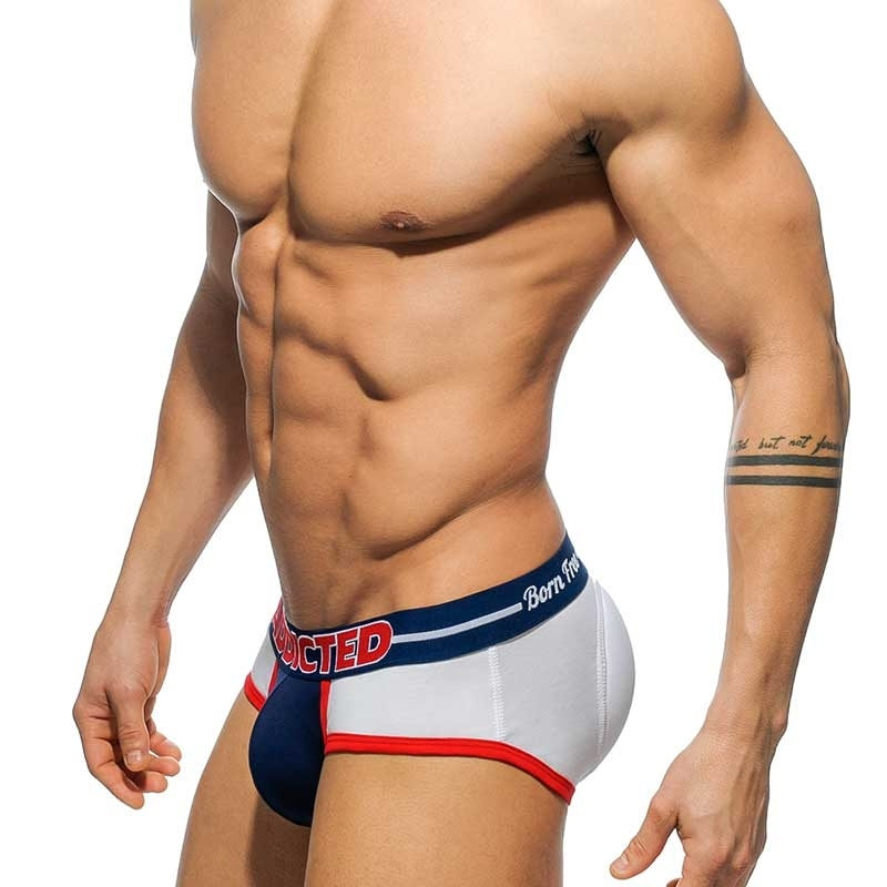 ADDICTED SLIP 2in1 AD413 Push-Up born free Design in weiss