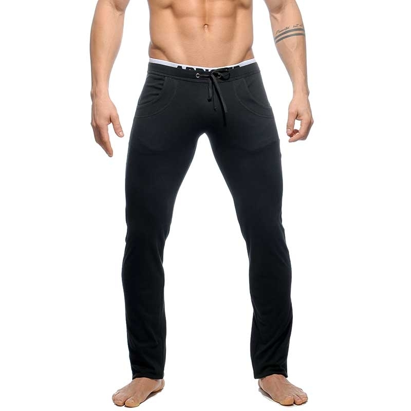ADDICTED SPORT PANT AD416 fighter cut in black