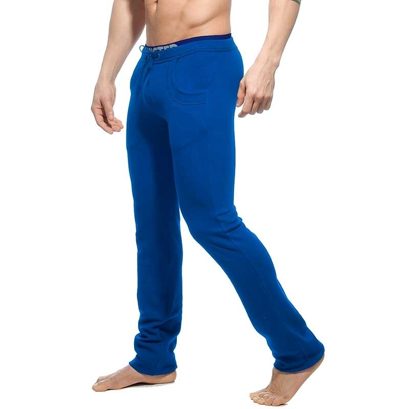 ADDICTED SWEATHOSE regular SPORTLER TOM Arktis Kampf AD-416 Aktiv Wear blue