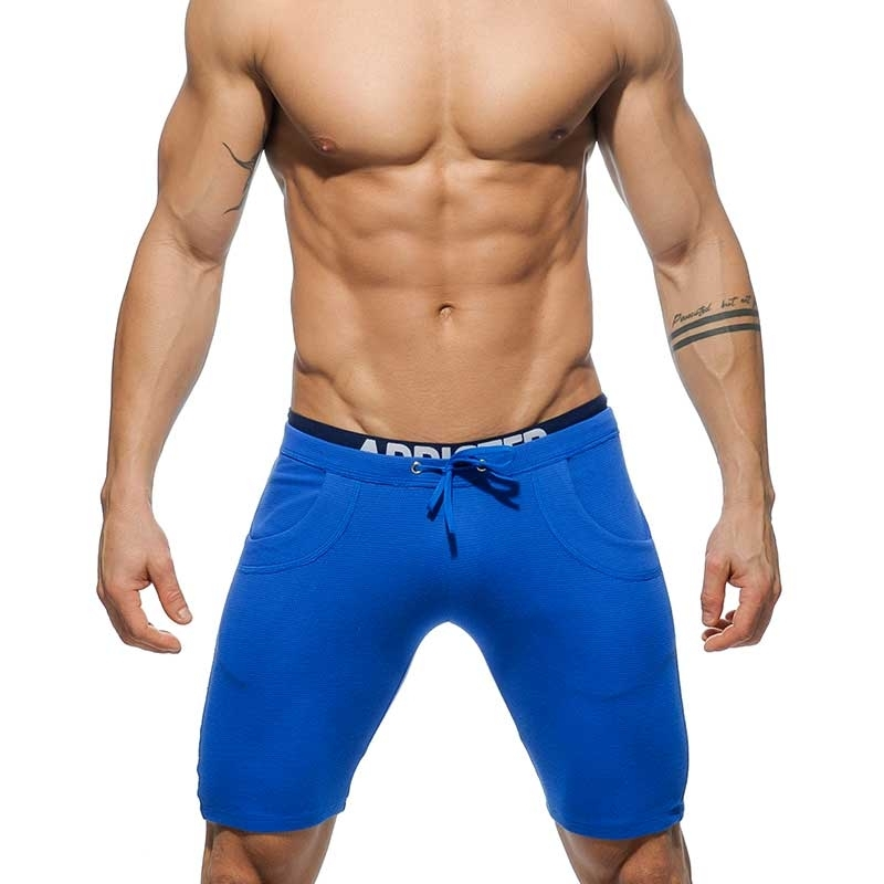 ADDICTED SHORTS regular SPORTLER JULIAN Gym Trainer AD-417 Aktiv Wear blue