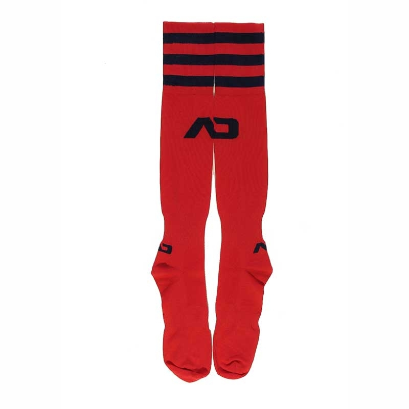 ADDICTED FOOTBALL SOCKS regular ACTIVE BRANDON Basic AD-382 Sportswear red