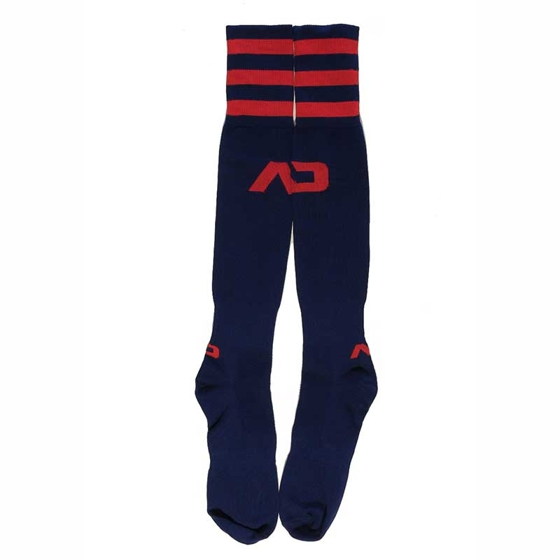 ADDICTED FOOTBALL SOCKS regular ACTIVE BRANDON Basic Fight AD-382 Sportswear navy-red