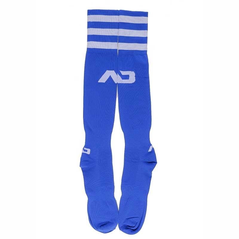 ADDICTED FUSSBALL SOCKEN regular AKTIV BRANDON Basic Regen AD-382 Sportswear blue