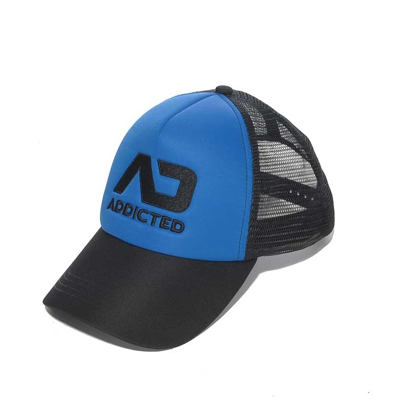 ADDICTED CAP regular FETISCH SIMON Bang Party AD-385 Club Wear blue
