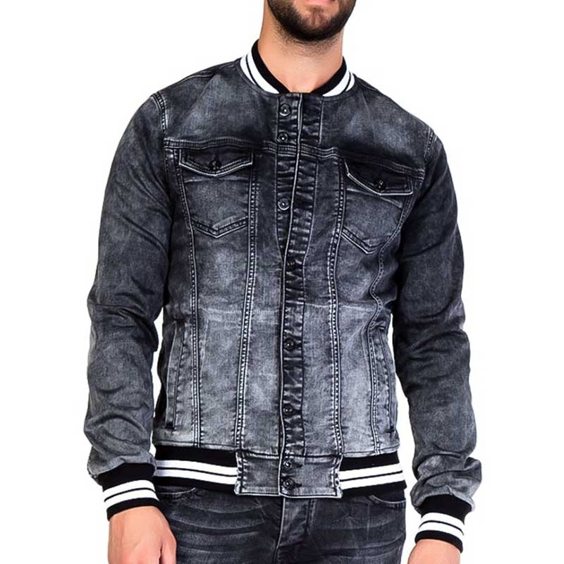 CIPO and BAXX JEAN JACKET CJ144 sport denim