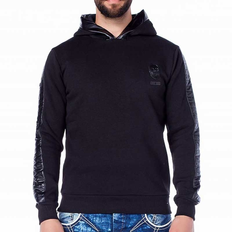 CIPO and BAXX HOODIE comfort TOD TIGER Wetlook Kapuze CL206 Club Wear black