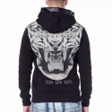 CIPO and BAXX HOODIE CL206 Retro Tiger Druck