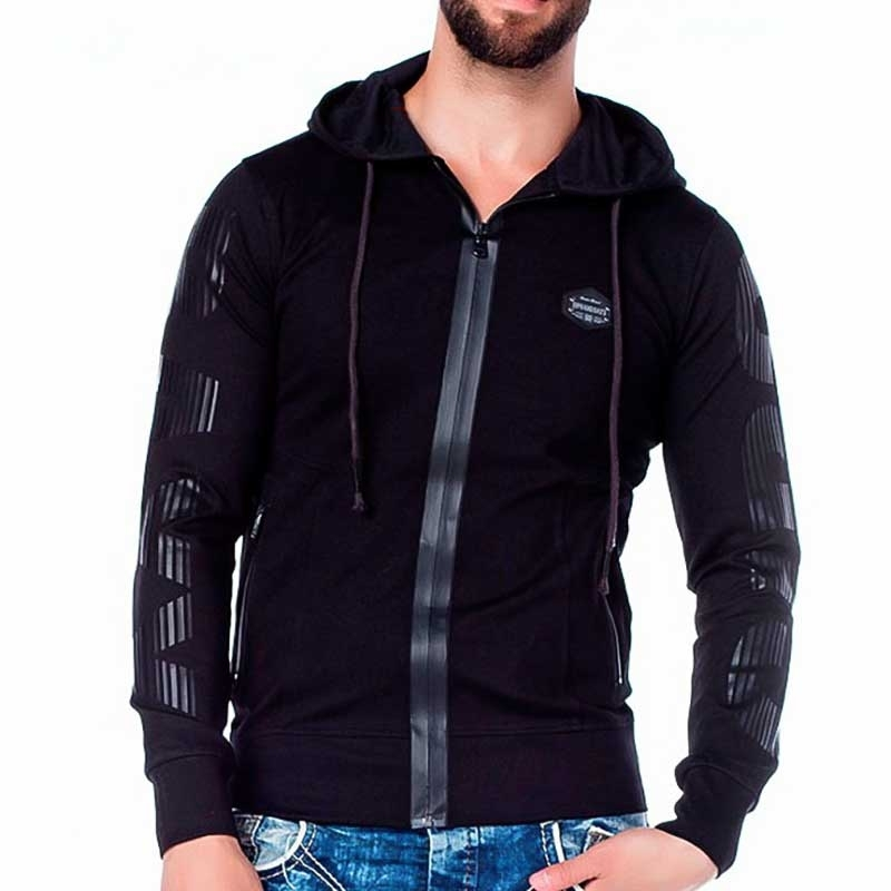 CIPO and BAXX SWEATJACKE modern AND Kapuze Wet Zipp CL190 Club Wear black