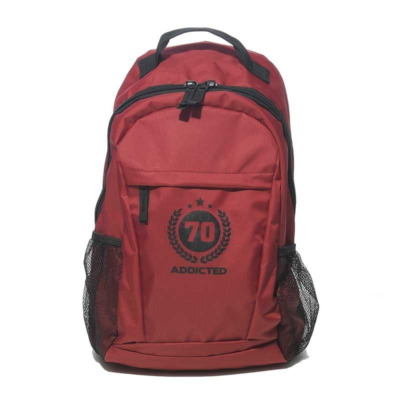 ADDICTED RUCKSACK AC037 Alltag Design in bordeaux