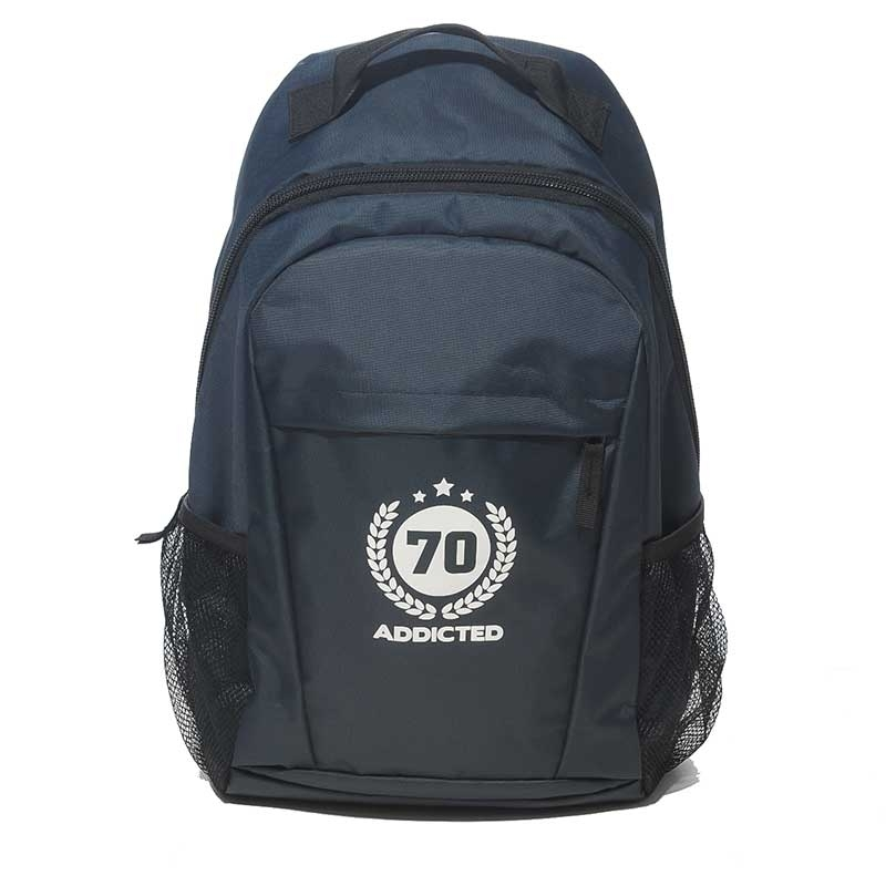 ADDICTED BACKPACK AC037 all day design dark blue