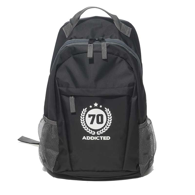 ADDICTED BACKPACK AC037 all day design in black