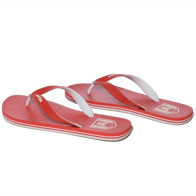 ADDICTED FLIPFLOP regular TWO TONE Strand AFF-01 Alltag Wear red