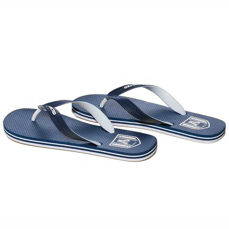 ADDICTED SANDALS bi-color AFF01 toes separator in dark blue
