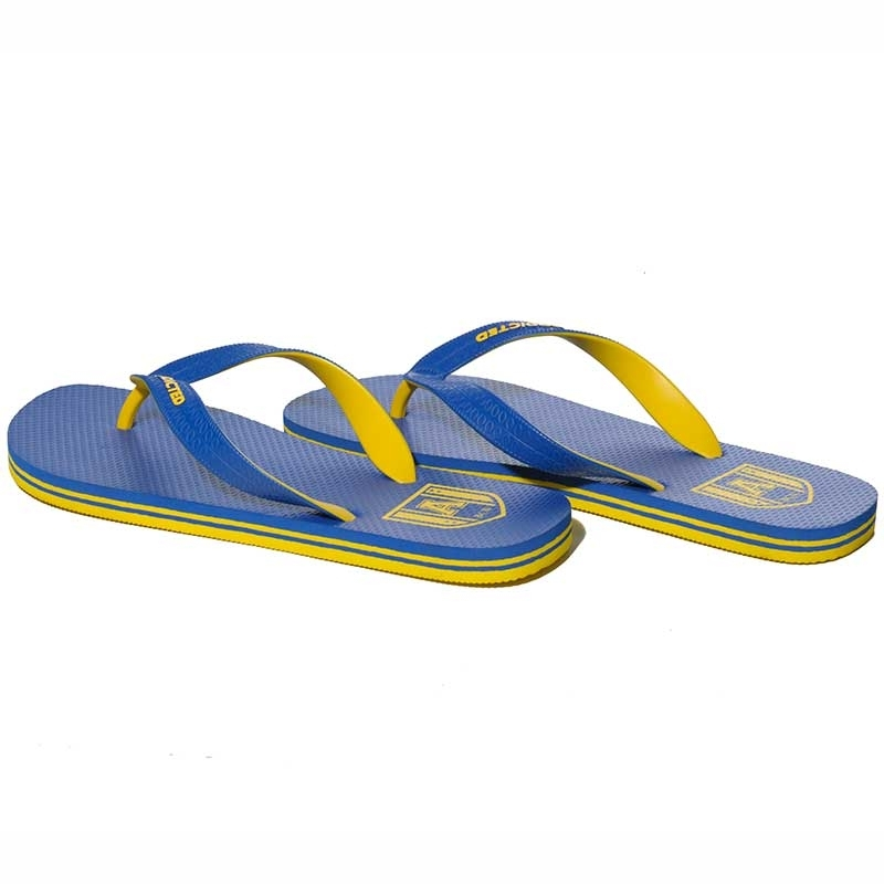 ADDICTED FLIPFLOP regular TWO TONE Banane Strand AFF-01 Alltag Wear blue-yellow