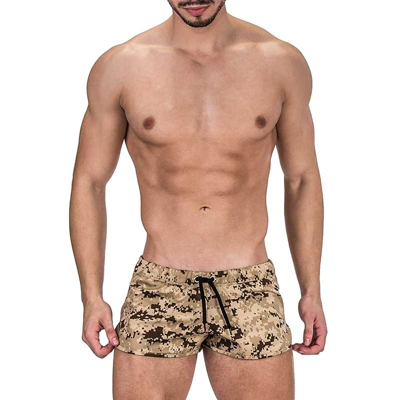 BARCODE Berlin SHORTS army NAMIB 91315 Desert storm boot camp51
