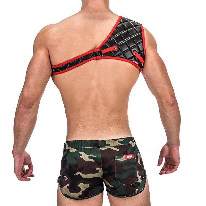 BARCODE Berlin HARNESS Laboratory 24 GLADIATOR 91333 blackred style
