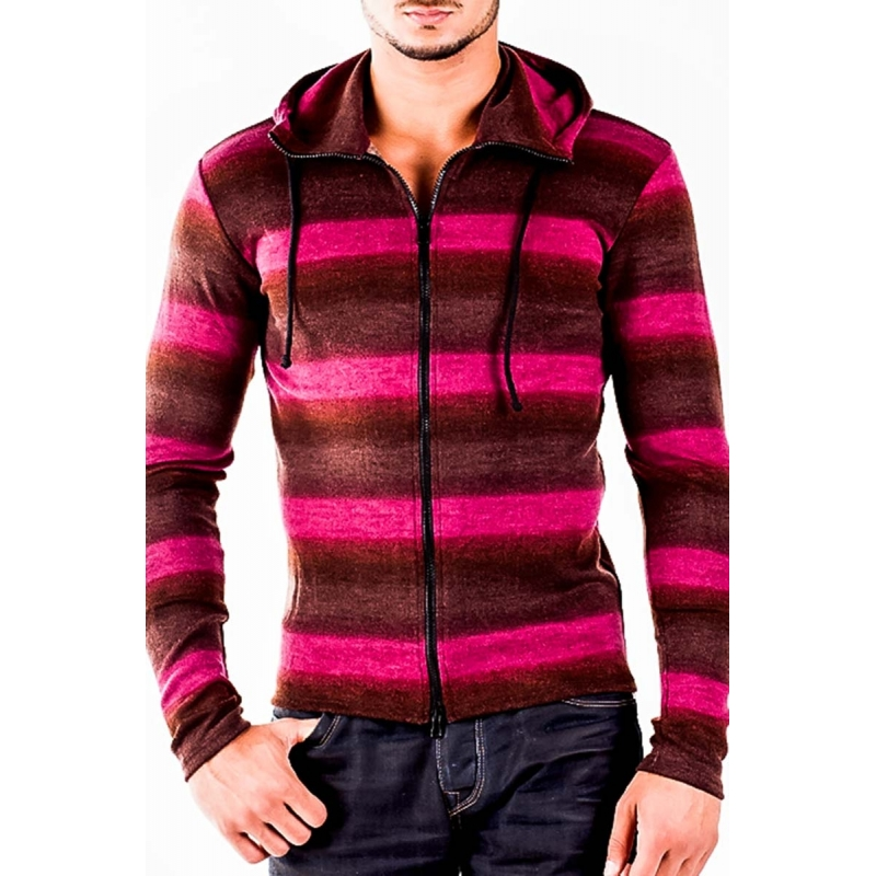 WAGNER Berlin HOODIE Cardigan stretch Denis