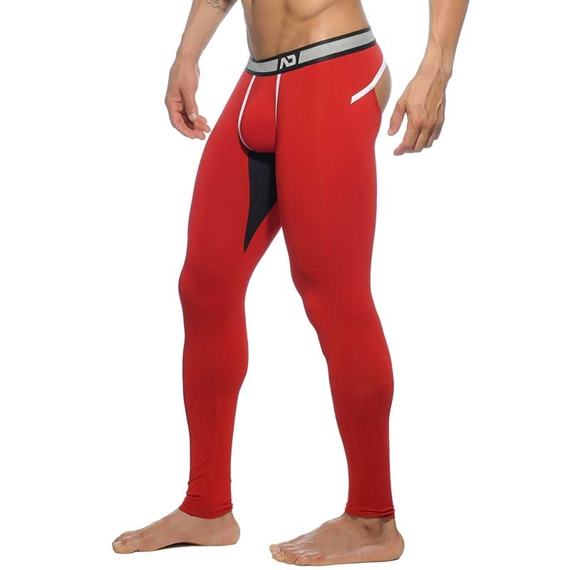 ADDICTED LEGGINGS athletik BACKLESS LONG JOHN Club AD-462 Fetisch Wear red