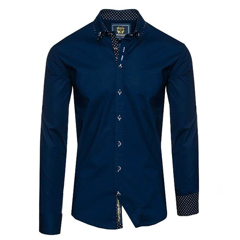 CARISMA HEMD modern BUSINESS BRUNO Mode CRSM H-105 Mainstream navy