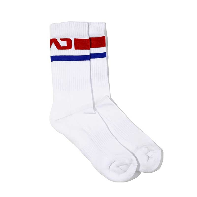 ADDICTED SOCKS basic AD521 Sprint with red stripes