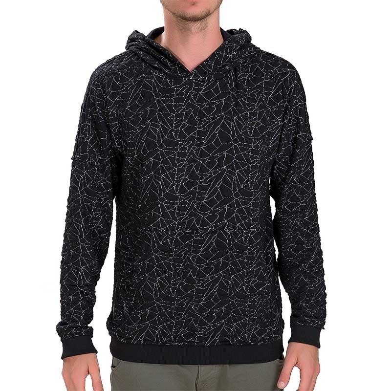 RED BRIDGE HOODIE regular GEOMETRISCH PICASSO Kapuze Guernica M2085 Mainstream black