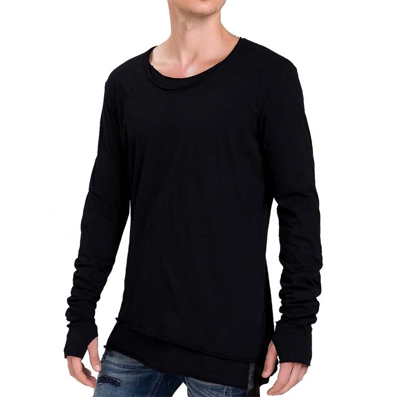 RED BRIDGE SWEATSHIRT comfort ANDROMEDA XXL Berghain M2036 Laessig Wear black