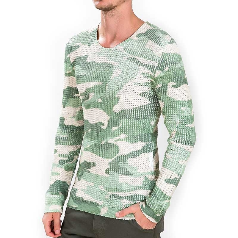 RED BRIDGE SWEATSHIRT regular ARMY JOE Thermo M3043 Streetwear camouflage