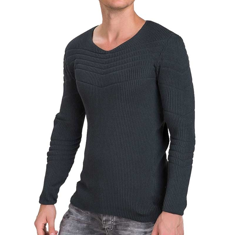 RED BRIDGE SWEATSHIRT modern ABEND MODE Rippen M3030 Comfort Wear anthracite