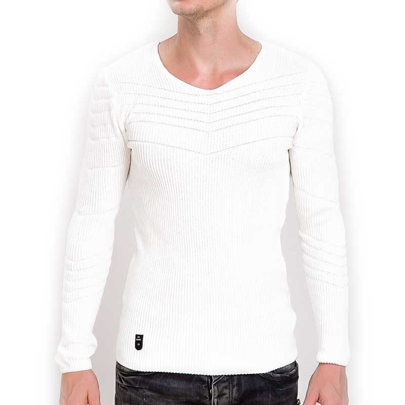 RED BRIDGE SWEATSHIRT modern ABEND MODE Rippen M3030 Comfort Wear beige