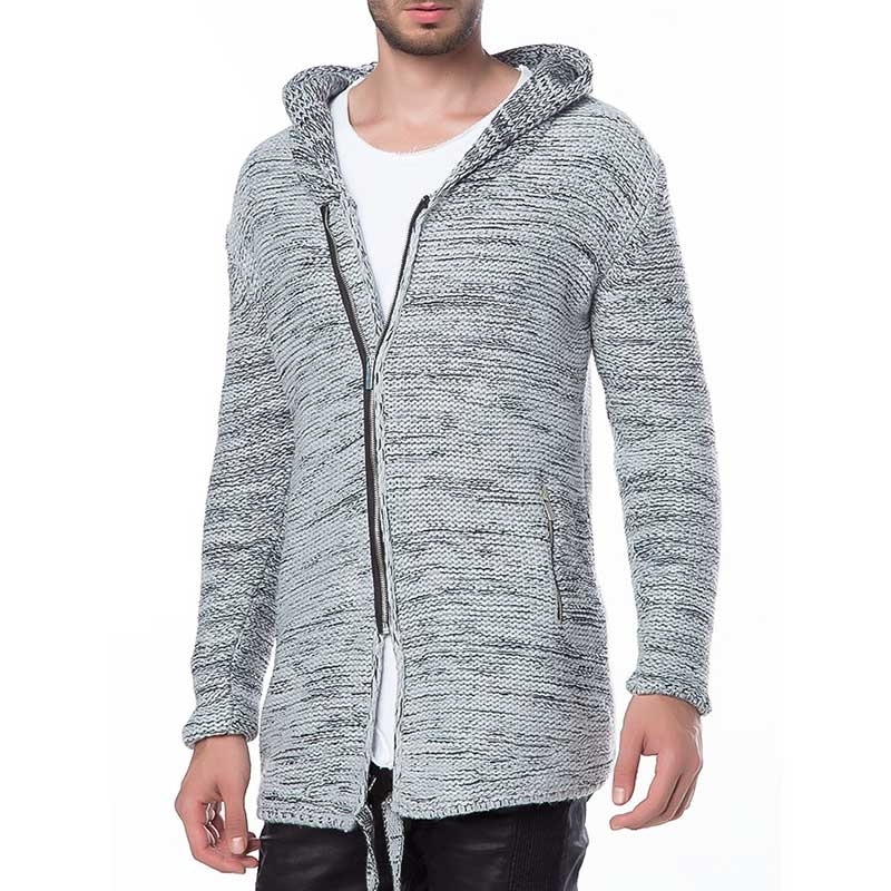 RED BRIDGE STRICKJACKE comfort KAPUZEN REITER Laendlich M3601 Draussen Wear grey