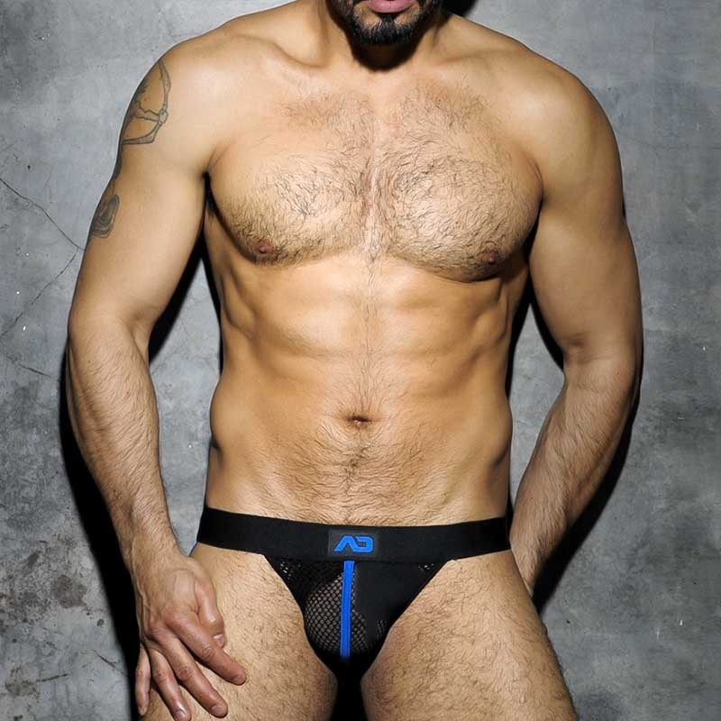 ADDICTED JOCK hot CLUB NETZ Fuck ADF05 Fetisch Wear blue-black