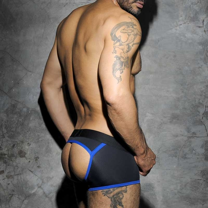 AD-FETISH backless BOXER ADF12 Rallye in blue