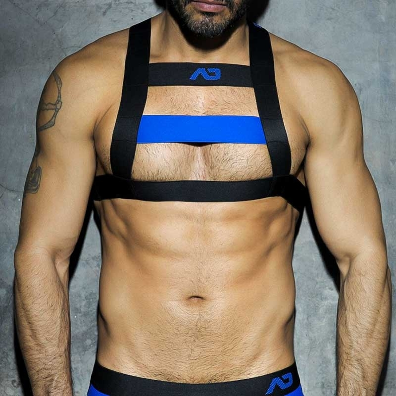 ADDICTED HARNESS ADF21 Brust Farbcode blue