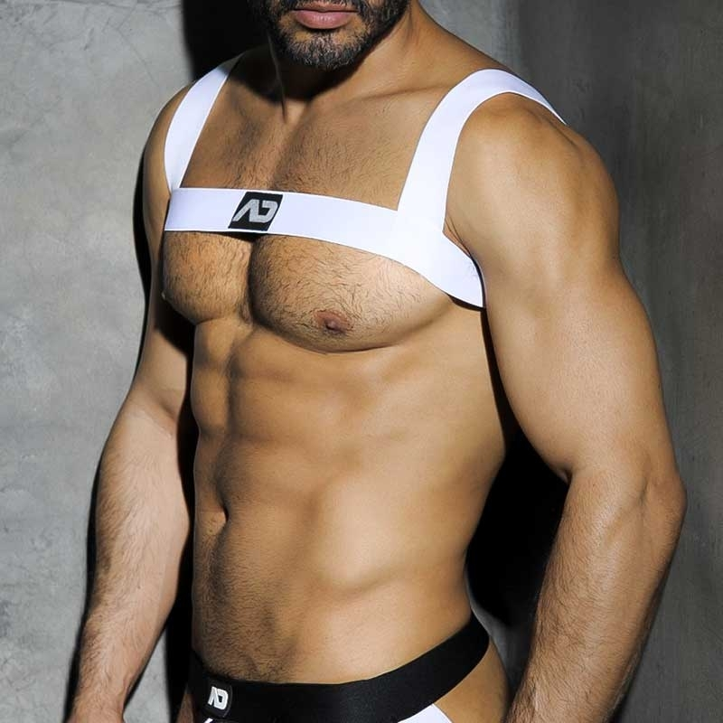 ADDICTED HARNESS ADF37 White Party Stil
