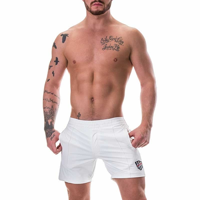 BARCODE Berlin SHORT hot NEO JONA Basketball 91253 Neopren like white