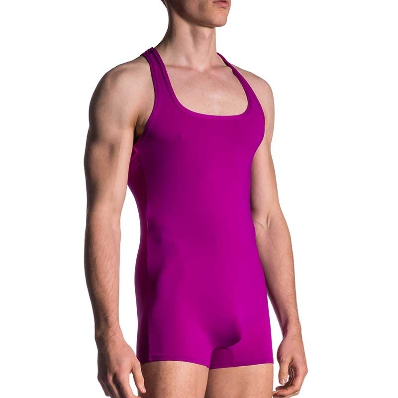 MANSTORE BODY athletic SPORT SINGLET Kampf M200 Aktiv Wear purple