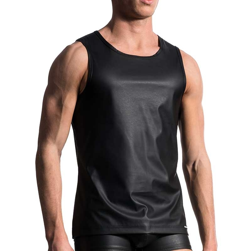 MANSTORE wet TANK TOP M104 designer black
