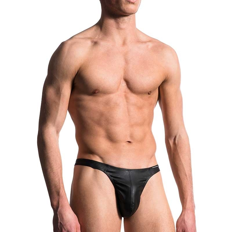 MANSTORE wet T-STRING M104 in black