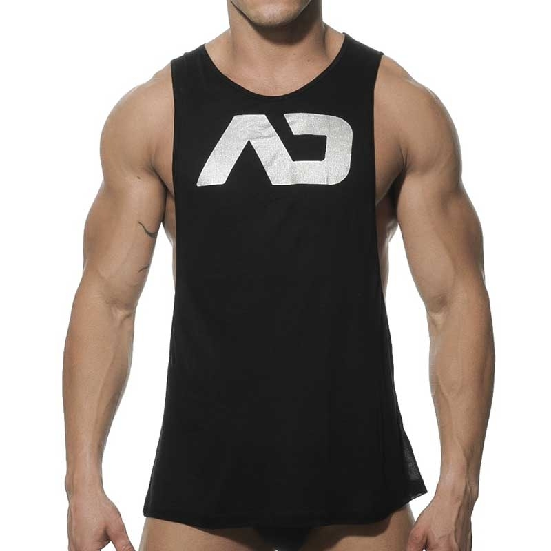 ADDICTED TANK TOP athletic TRAINER Sport AD-043 Sportswear black