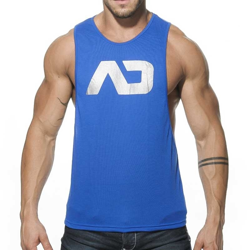 ADDICTED TANK TOP athletic TRAINER Sport AD-043 Sportswear royal