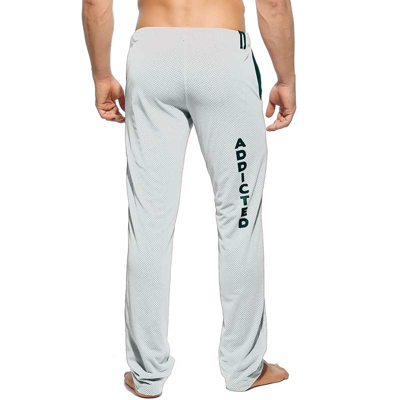 ADDICTED SWEATHOSE AD356 Joggen Netz