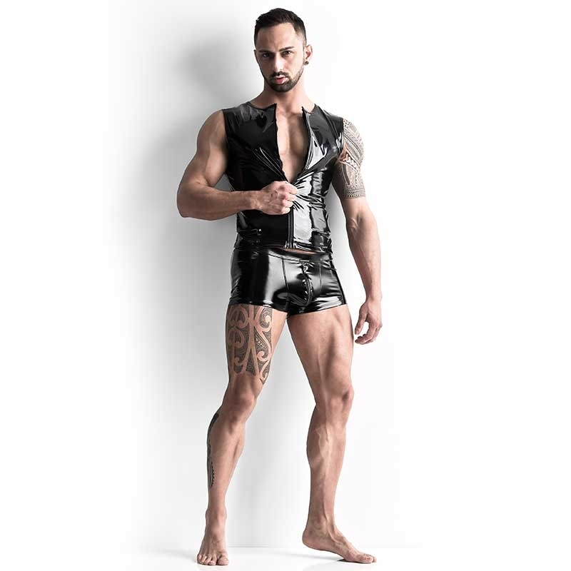 MANSTORE VEST M420 designer latex look