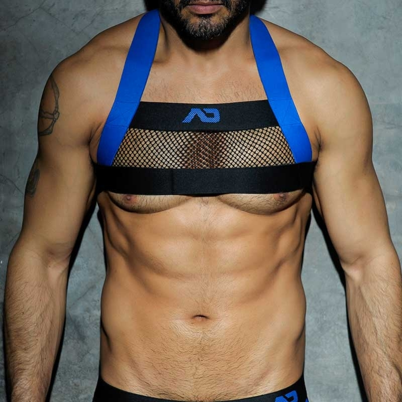 ADDICTED HARNESS ADF24 Netz Farbcode blue