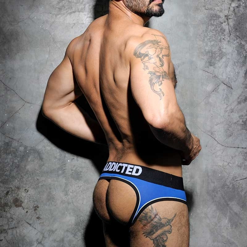 ADDICTED BRIEF AD305 color stripe