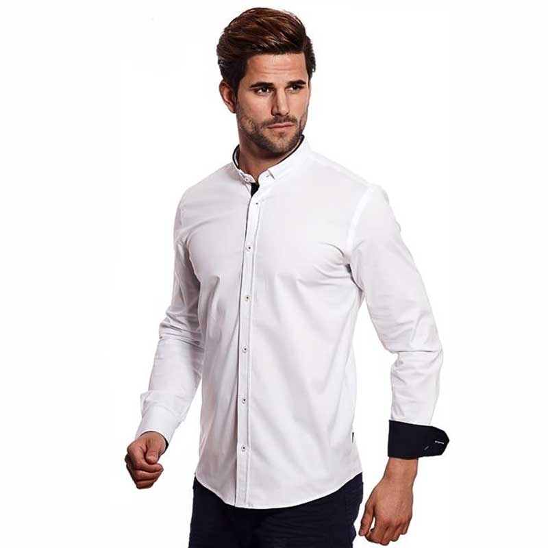 CARISMA DRESS SHIRT CRSM8386 modern club collar