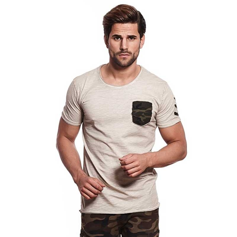 CARISMA T-SHIRT CRSM4427 Used Camouflage