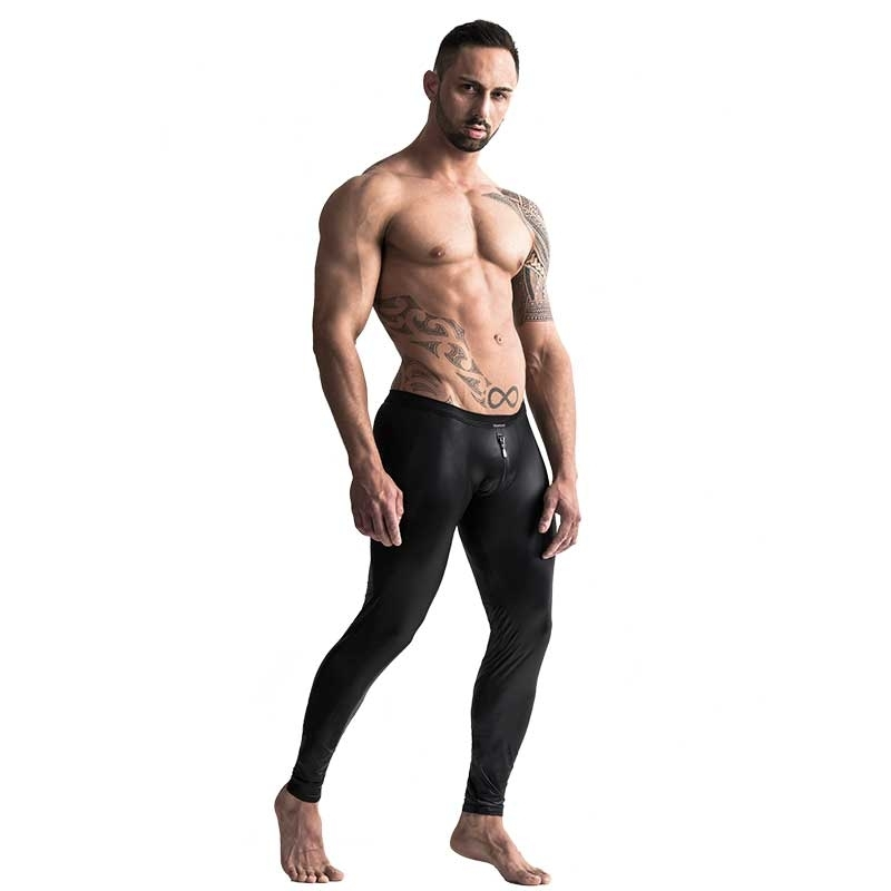 MANSTORE LEGGINGS hot RETRO ZIPP ERIK Tanz M661 Club Wear black