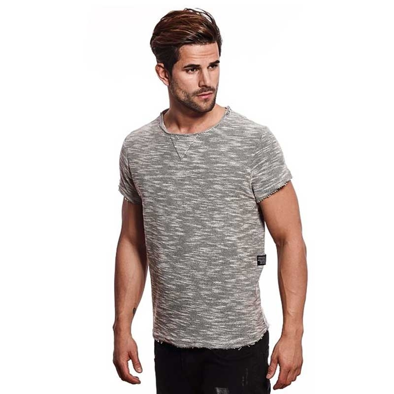 CARISMA T-SHIRT CRSM4387 raw and open edges