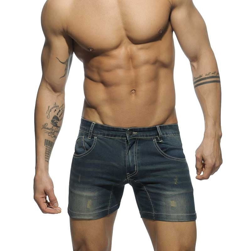 ADDICTED SHORTS AD530 Denim Stil